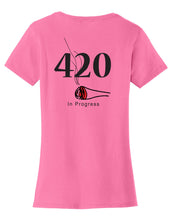 420 In Progress Womens T-Shirt