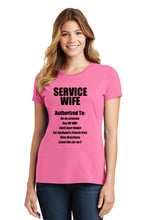 Service Wife Womens T-Shirt