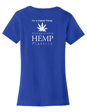 Hemp Plastics Womens T-Shirt