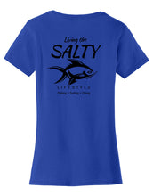 Living Salty Womens T-Shirt