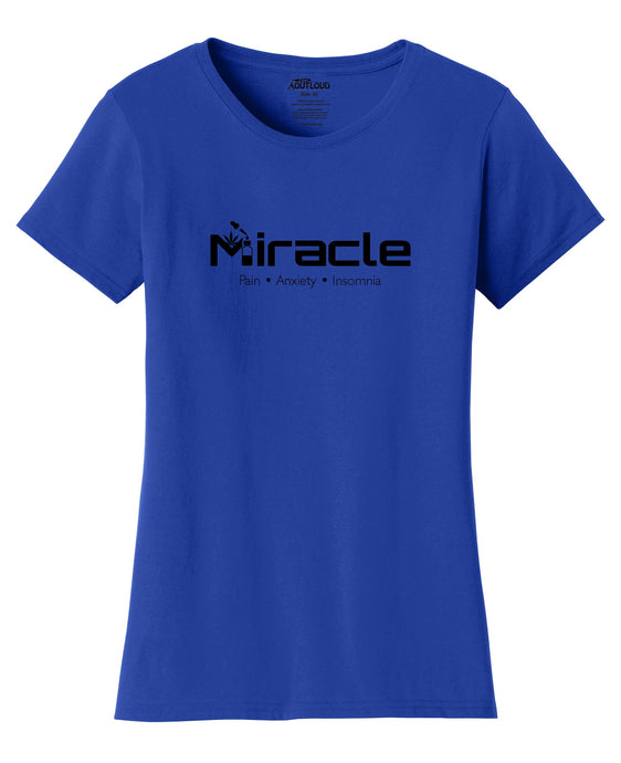 Cbd Miracle Dropper Womens T-Shirt