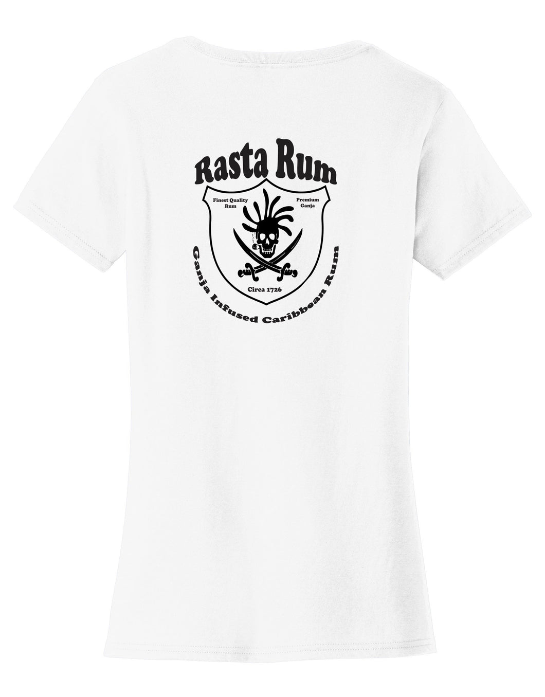 Rasta Rum Womens T-Shirt