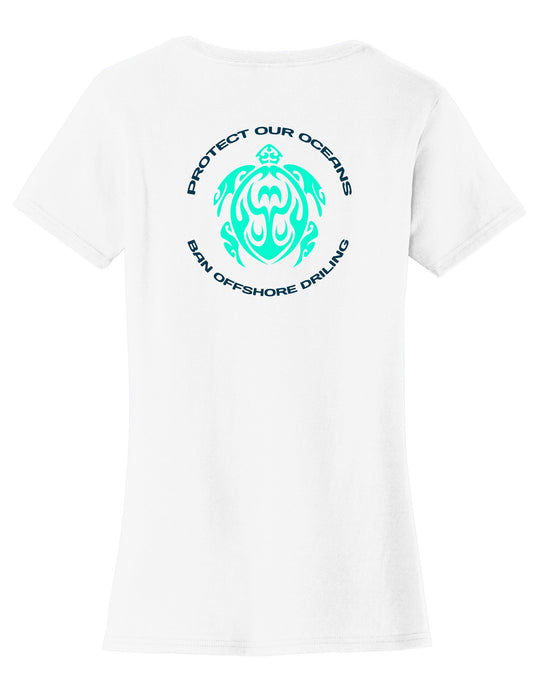 Protect Our Oceans. Womens T-Shirt