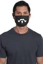 Moustache Face Mask