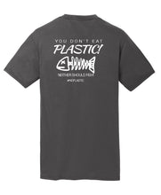 Fish Don't Eat Plastic Mens T-Shirt