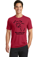 Who Feeds Who Dog Mens T-Shirt
