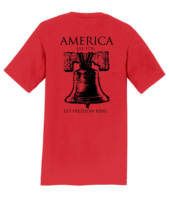 Let Freedom Ring Mens T-Shirt