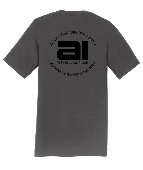 AI Will Not Be Our Friend!  Mens T-Shirt