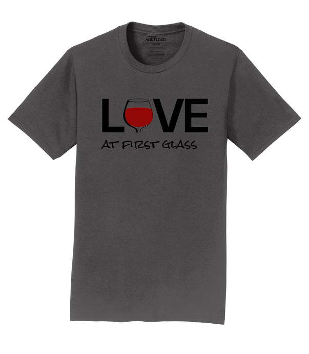 Wine Love Mens T-Shirt