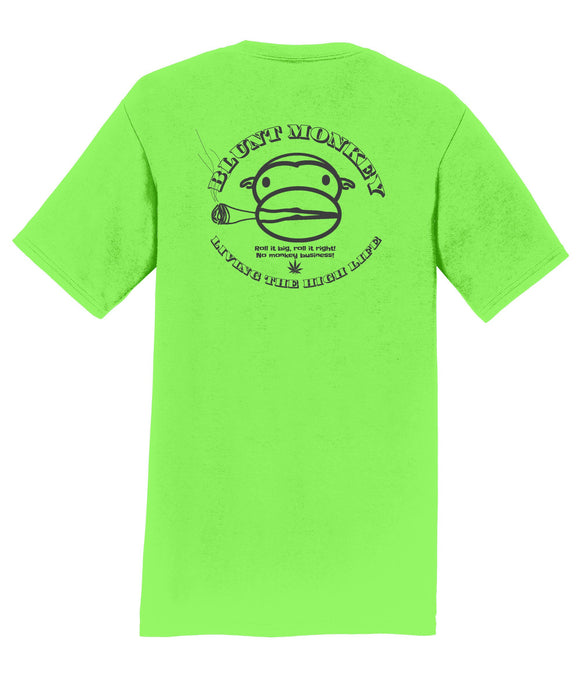Blunt Monkey Mens T-Shirt