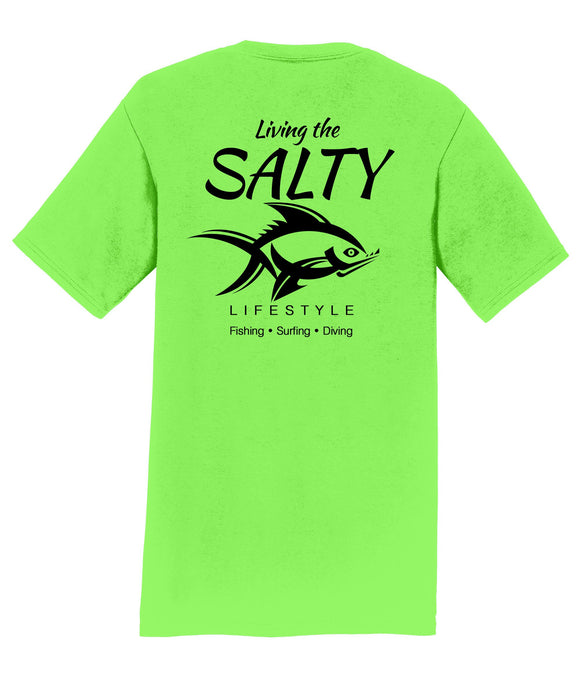 Living Salty Mens T-Shirt
