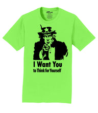 Uncle Sam Wants You Mens T-Shirt