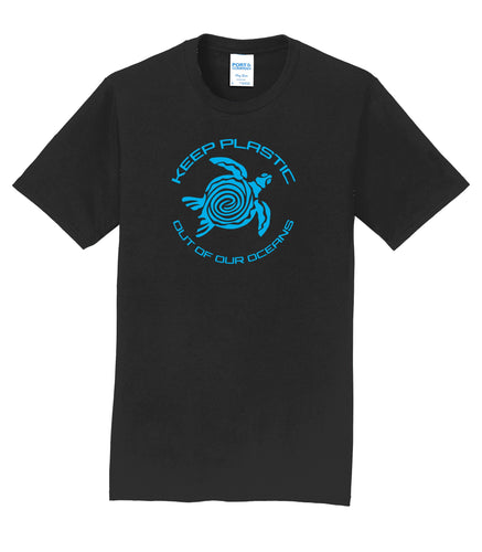 No Plastic In Our Oceans Mens T-Shirt