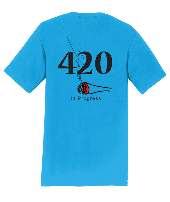 420 In Progress Mens T-Shirt