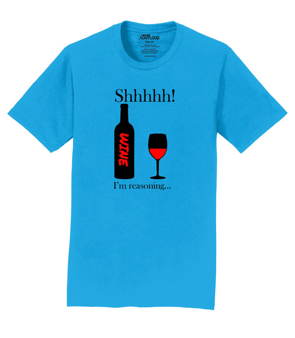 Reasoning with Red Wine Mens T-Shirt