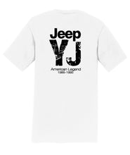 Jeep YJ American Legend Mens T-Shirt