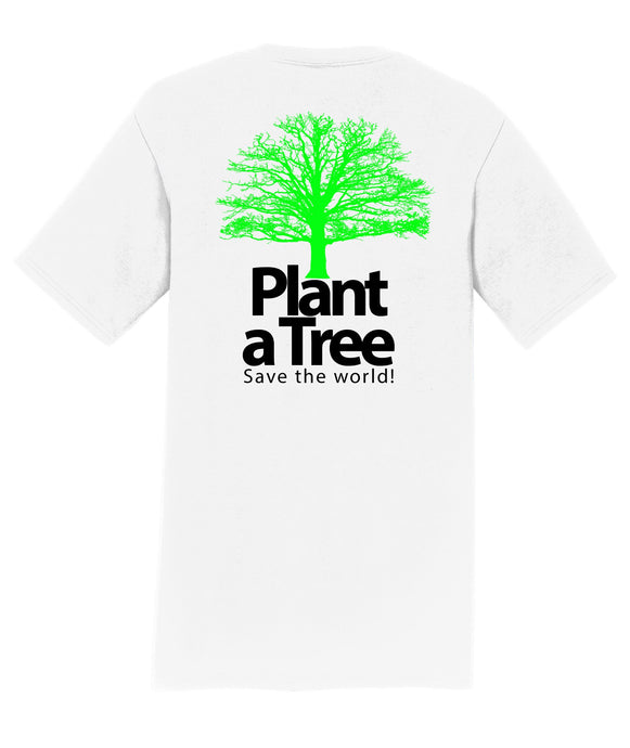 Plant a Tree, Save the World  Mens T-Shirt