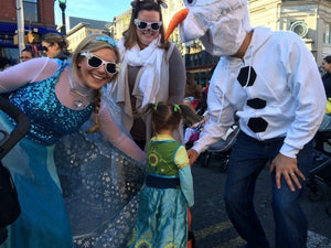Scares and smiles at Hoboken's Ragamuffin Parade