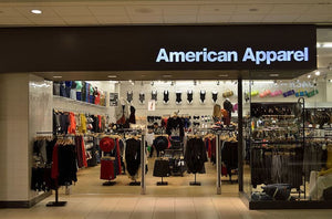 4 American Apparel stores in N.J. to close after sale to Canadian firm