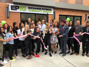 Exchange Physical Therapy Group on the grand opening