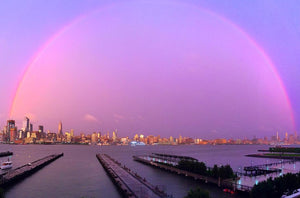 How to Photograph Hoboken's Surreal Summer Rainbows