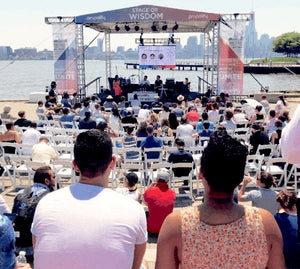 Tech fest again propels big crowd to Hoboken waterfront