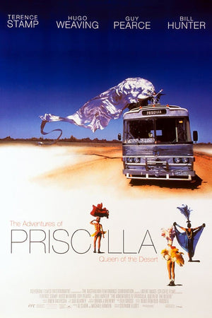 The Adventures of Priscilla Added to Movies Under the Stars Lineup for Pride Month - June 23, 8:30pm, Maxwell Park