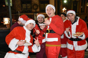 Ho, ho, no! SantaCon is busiest day in years for cops with 17 arrests