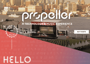 Propeller Officially Launches; Hoboken to Host Thousands for Innovation Festival