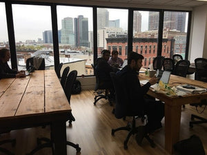 NJ EDA Officials Tour Jersey City Coworking Space Indiegrove