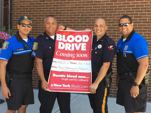 Hoboken Community Blood Drive with the Police & Fire Depts - 8/16