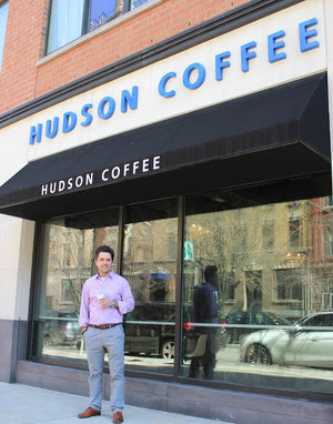 Local Hoboken Officer Opens Coffee Bar in Historical Maxwell Lane
