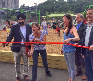 Hoboken Opens Northwest Pop-Up Park and Municipal Parking Lot