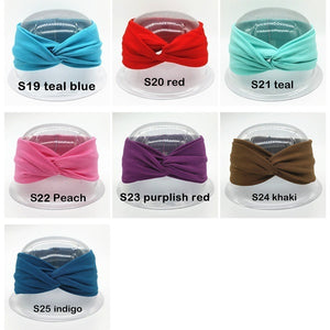 Elastic Twist Headbands for Women Girls