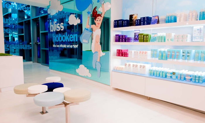 Spa Day for One with Massage or Facial at Bliss Spa at W Hoboken (Up to 40% Off)