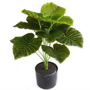 1Bunch 28CM/48CM  Artificial Silk Green Scindapsus Aureus Leaf for Wedding Decorations Fake Bonsai Tree Plant  Accessories