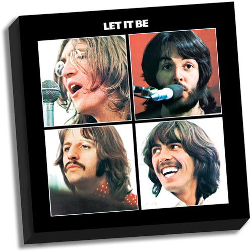 The Beatles Let It Be '20x20' Stretched Canvas
