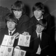 Beatles with Medals