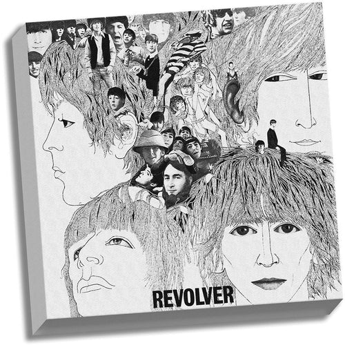 The Beatles Revolver 20x20 Stretched Canvas