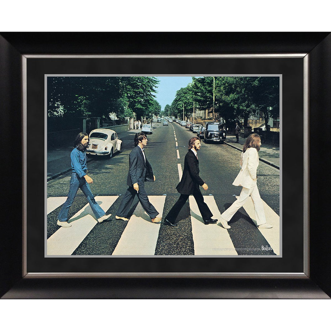 The Beatles 'Abbey Road' 11x14 Framed Photo