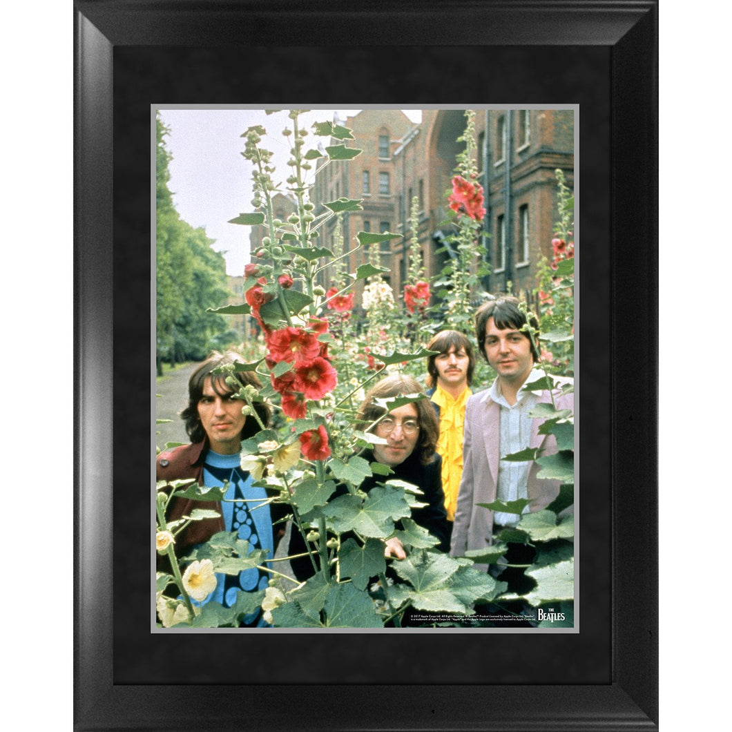The Beatles Through the Years : 1968 The Beatles in the Garden Framed 16x20 Photo