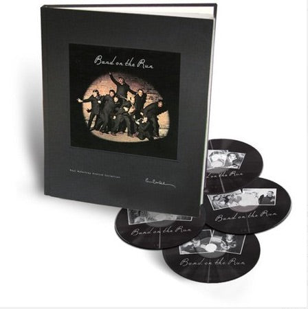 "RARE: ""Band on the Run"" Out-of-Print, Numbered Book/CD/DVD Set"