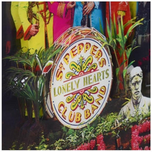 The Beatles 3D Sgt Pepper Album Cover Acrylic Collage