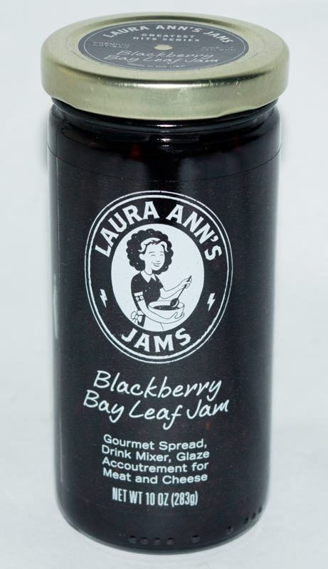 Blackberry Bay Leaf Jam