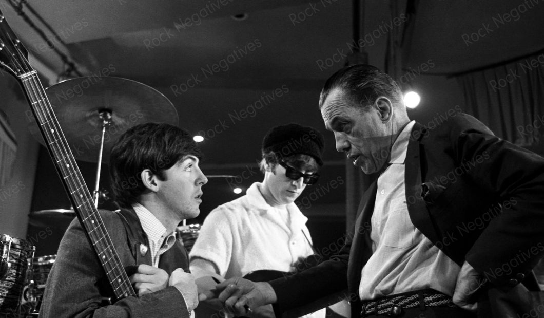 Beatles at Ed Sullivan Show Rehearsal
