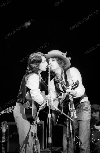 Bob Dylan and Joan Baez Onstage