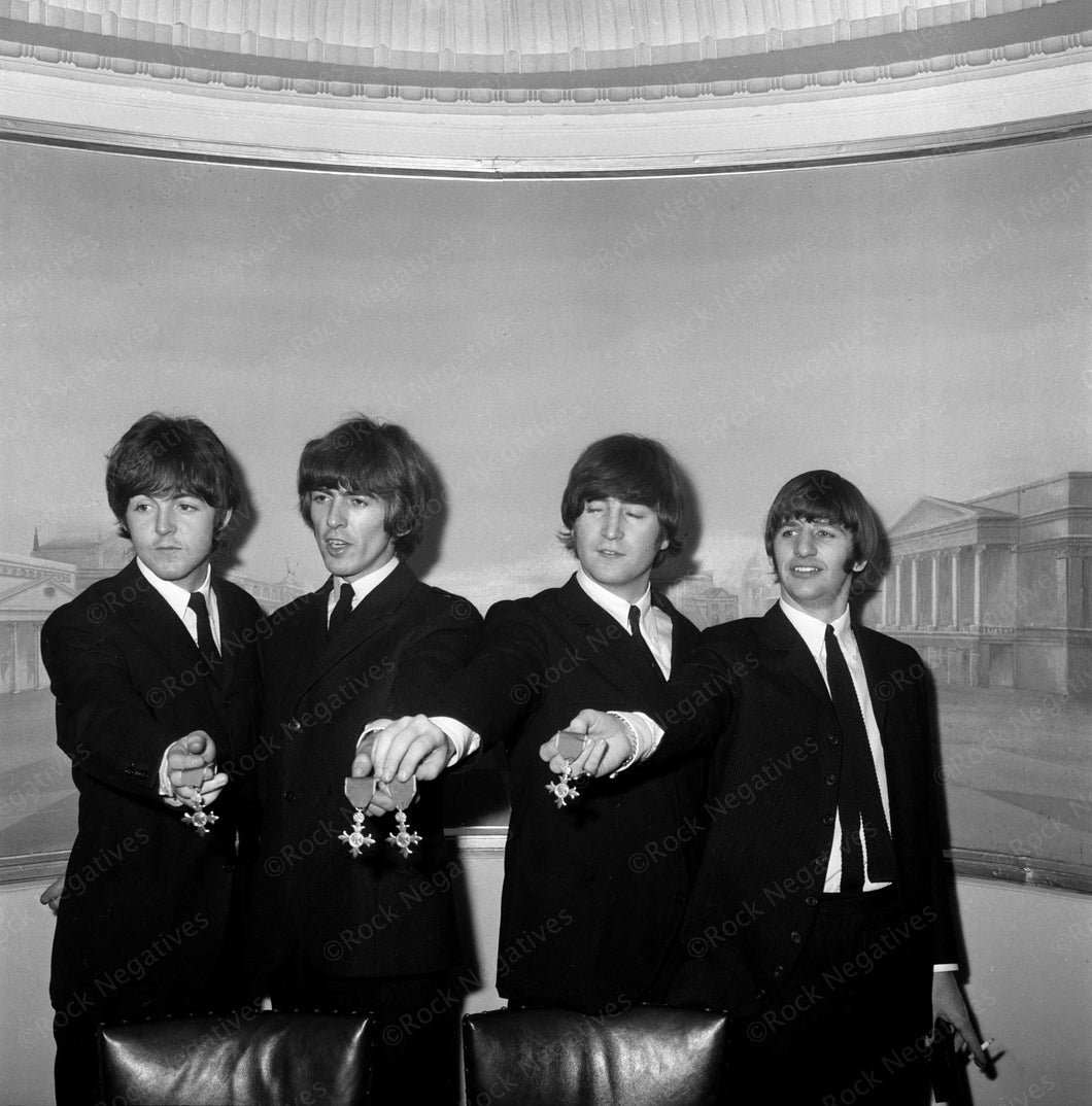 Beatles at Buckingham Palace