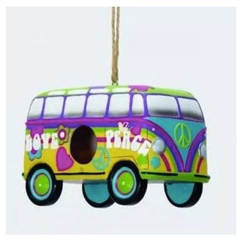 Hippie Bus Birdhouse