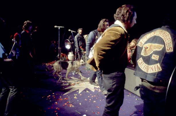 Rolling Stones and Hells Angels | Altamont | 1969