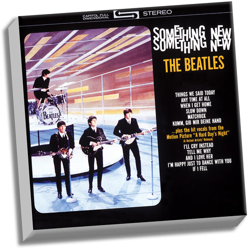 The Beatles Something New '20x20' Stretched Canvas